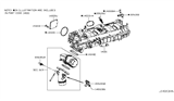 Related Parts for Infiniti Intake Manifold - 14001-5CA0A