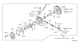 2011 Infiniti FX50 Power Steering Pump Diagram 1
