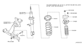2012 Infiniti FX35 Front Suspension Diagram 5
