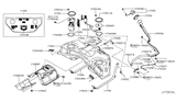Diagram for Infiniti Fuel Pump - 17040-1CB0D