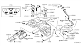 Diagram for Infiniti Fuel Pump - 17040-1CA0A