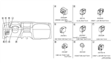 2012 Infiniti FX35 Switch Diagram 5