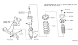 2012 Infiniti FX35 Front Suspension Diagram 6
