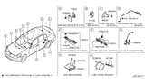 2007 Infiniti G35 Electrical Unit Diagram 1