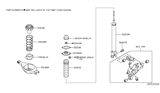 2007 Infiniti G35 Rear Suspension Diagram 5