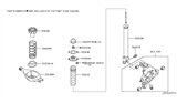 2007 Infiniti G35 Rear Suspension Diagram 6