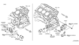 Diagram for Infiniti Oil Filter - 15208-65F0D