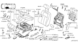 Related Parts for Infiniti G25 Air Bag - K8EHA-JK600