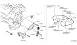 Related Parts for Infiniti Drive Belt - 11720-4P10A