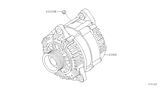 Related Parts for Infiniti Alternator - 23100-8S100