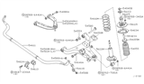 Diagram for Infiniti Sway Bar Bushing - 54613-ZV50A