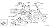 Diagram for Infiniti Fuel Pump - 17040-1BA0D