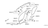 2013 Infiniti EX37 Body Side Trimming Diagram 2
