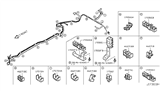 2008 Infiniti EX35 Fuel Piping Diagram 2