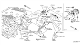 2008 Infiniti EX35 Engine Control Vacuum Piping Diagram 1