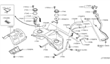 Diagram for Infiniti Fuel Pump - 17040-1NC0C