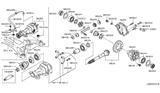 Related Parts for Infiniti M37 Pinion Bearing - 38120-1MC0C
