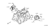 Related Parts for Infiniti Throttle Body - 16119-1CA0D