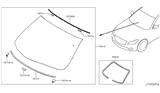 Related Parts for Infiniti M37 Windshield - G2700-1MA1C