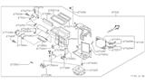 Infiniti I30 Blend Door Actuator
