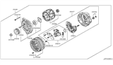 Related Parts for Infiniti Alternator - 23100-EG010