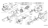 Related Parts for Infiniti M45 Starter Motor - 23300-EH000