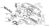 Related Parts for Infiniti M35 Glove Box - 68500-EH100