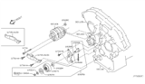 2005 Infiniti FX35 Alternator Fitting Diagram 2