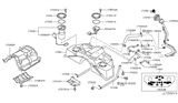 Diagram for Infiniti Fuel Pump - 17040-CG00B