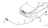 Related Parts for Infiniti FX35 Hood Cable - 65620-CG000