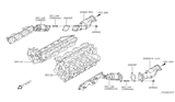 Diagram for Infiniti Catalytic Converter - 208B2-CG725