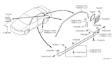 2000 Infiniti G20 Body Side Fitting Diagram 2