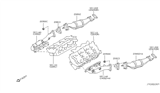 Diagram for Infiniti Catalytic Converter - 208B2-AC325