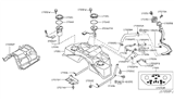 Diagram for Infiniti Fuel Pump - 17040-CD010