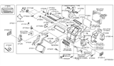 Related Parts for Infiniti G35 Heater Core - 27140-AM61A