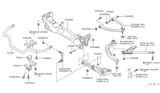 Diagram for Infiniti Sway Bar Bushing - 54613-AL524