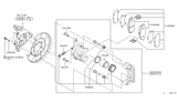 Related Parts for Infiniti Brake Pad Set - 44060-EG00K