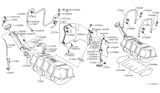 Diagram for Infiniti Fuel Pump - 17042-AG901