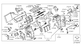 Related Parts for Infiniti QX80 Heater Core - 27140-1LA0A