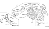 Related Parts for Infiniti Transfer Case - 33100-1LA0D