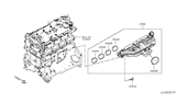 Related Parts for Infiniti QX50 Intake Manifold - 14001-5NA0B