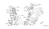 Diagram for Infiniti Catalytic Converter - 208A2-3JG0A