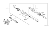 Related Parts for Infiniti QX60 Axle Shaft - 39600-3JA0A