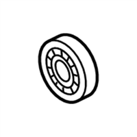 Infiniti M37 Pinion Bearing - 38120-1MC0C