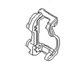 Infiniti Genuine Brake Front Baffle Plate 41150-7S000 QX56