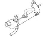 Infiniti Thermostat Housing - 11060-2Y000