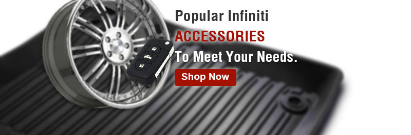 Popular Infiniti accessories to meet your needs